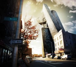 Photoshop Visualisation tutorial: Composite a 3D building into a photo