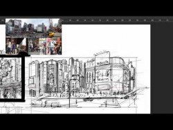 Taipei City – Draw in perspective – Taiwan Speed Sketch