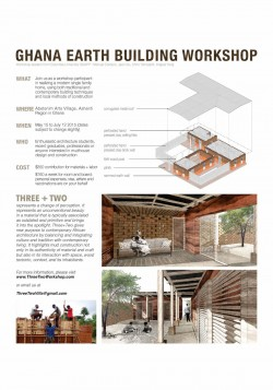 Cast Earth Building Workshop – Ghana building workshop  Between May and July 2015 we will build  ...