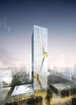 Tower Architectural Rendering