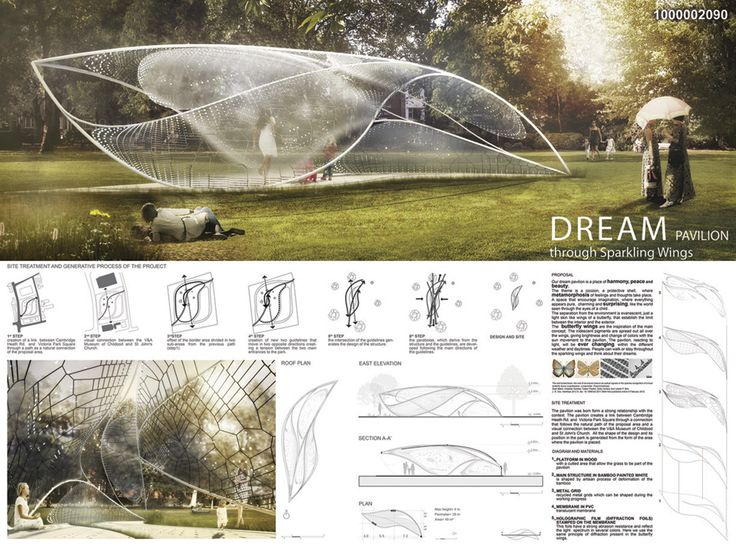 Triumph pavilion 2014 design competition arch for Landscape design contest