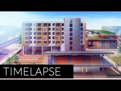 Architectural Visualization Render | Photoshop Post Production | Time lapse short 3