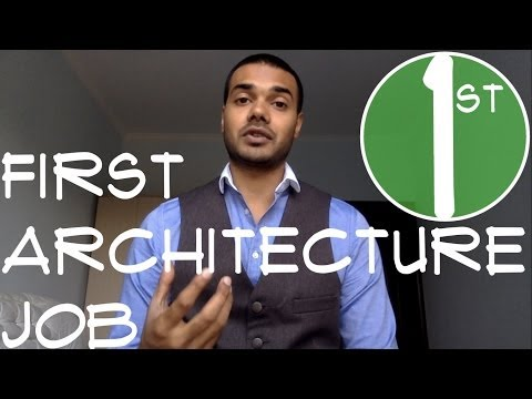 Will LEED, 3D renderings or Linkedin help you? First Architecture Job