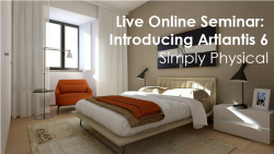 Live Online Seminar: Introducing Artlantis 6 – Simply Physical, May 12 2015