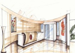 Office Concept Drawing