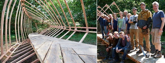 Dartmoor Arts – Courses – Spatial Structures. This years project 26 Jul to 1 Aug, ap ...
