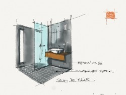 Architectural Sketch Interior Design