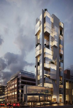 Persis Tower Architectural Visualization