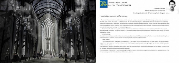 Architecture Thesis  INTERIOR DESIGN RECOMMENDATION PROJECT FOR THE ZOMBIE CRISIS CENTRE