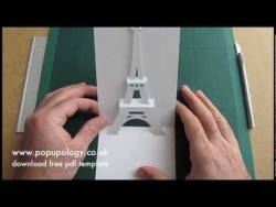 Pop Up Eiffel Tower Card Tutorial – Origamic Architecture