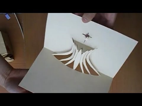 The Cathedral Of Brasilia Pop Up Card Tutorial Origamic Architecture