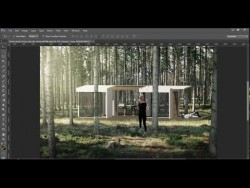 Tutorial Forest House – Architectural Photoshop