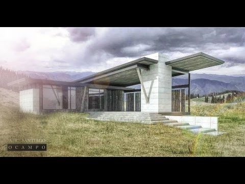 ARCHITECTURAL: Post Production using photoshop – Tutorial