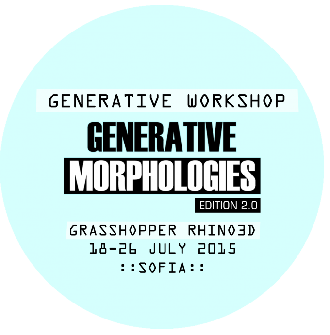 GENERATIVE MORPHOLOGIES v2 is a workshop intended for architects, students of Architecture and A ...