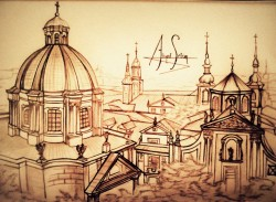 Hystorical Buildings drawing