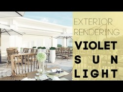 (Photoshop Tutorial for Architect) – How to render exterior with soft light