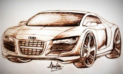 Audi Concept Drawing