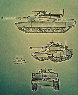 Tanks Drawing
