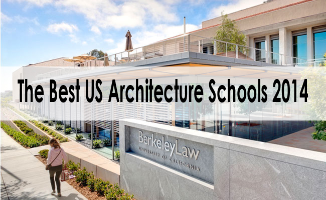 the best us architecture schools for 2014 are arch. Black Bedroom Furniture Sets. Home Design Ideas