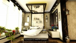 Design and decoration of a Master bedroom in Kabul, Afghanistan