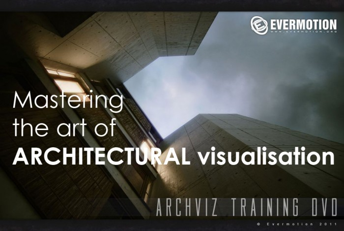 Mastering the art of ARCHITECTURAL visualisation – ARCHVIZ training DVD