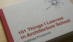 "101 Things I Learned in Architecture School"" Book review"