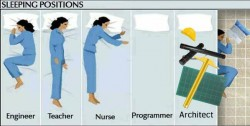 Architect sleeping positions