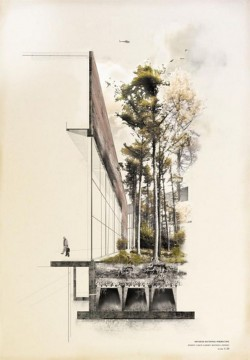 archisketchbook – architecture-sketchbook, a pool of architecture drawings, models and ideas