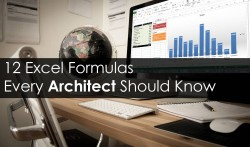 12 Excel Formulas Every Architect Should Know