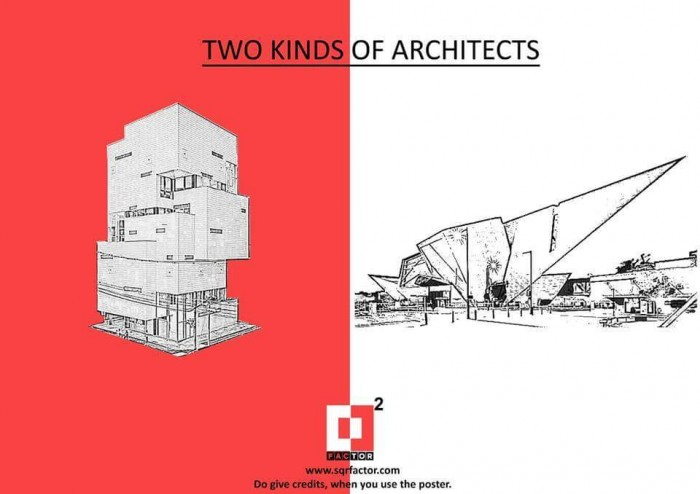 Two kinds of architects