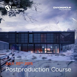 Advanced Architectural Postproduction Classs – July 20th 2015 – SOA Academy