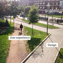 Landscape architecture – User experience vs Design