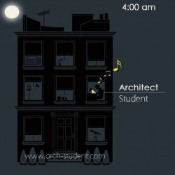 Architects and Students at 4:00 am