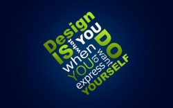 Design is you Wallpaper