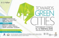 Towards green Cities, International Congres 2015