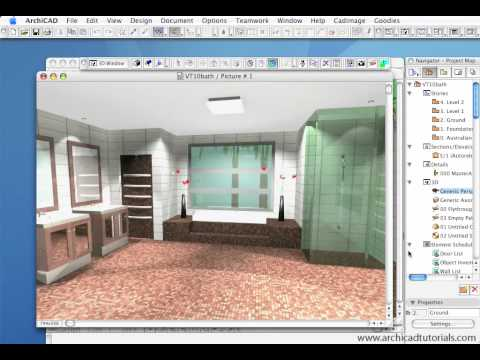 Professional Rendering with ArchiCAD