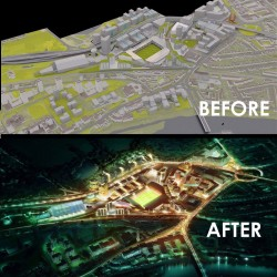 Befor – After | Visualizations of urban project