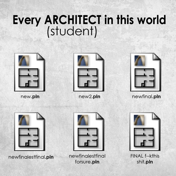 Architect Student every architect/student in this world | arch-student