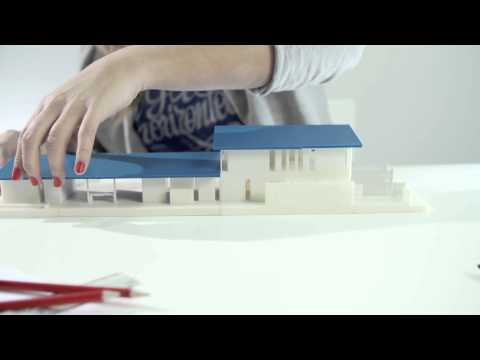 Amazing 3D printed architectural model Timelapse