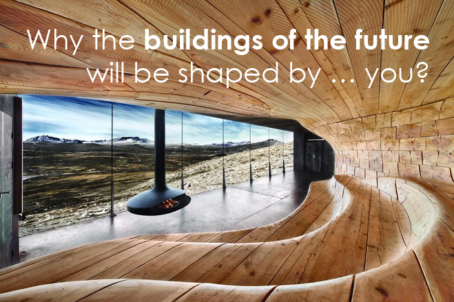 Marc Kushner: Why the buildings of the future will be shaped by … you?
