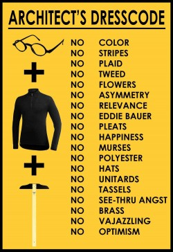 Architect's dresscode