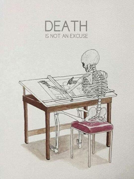 Death is not an excuse arch for Architectural design issues