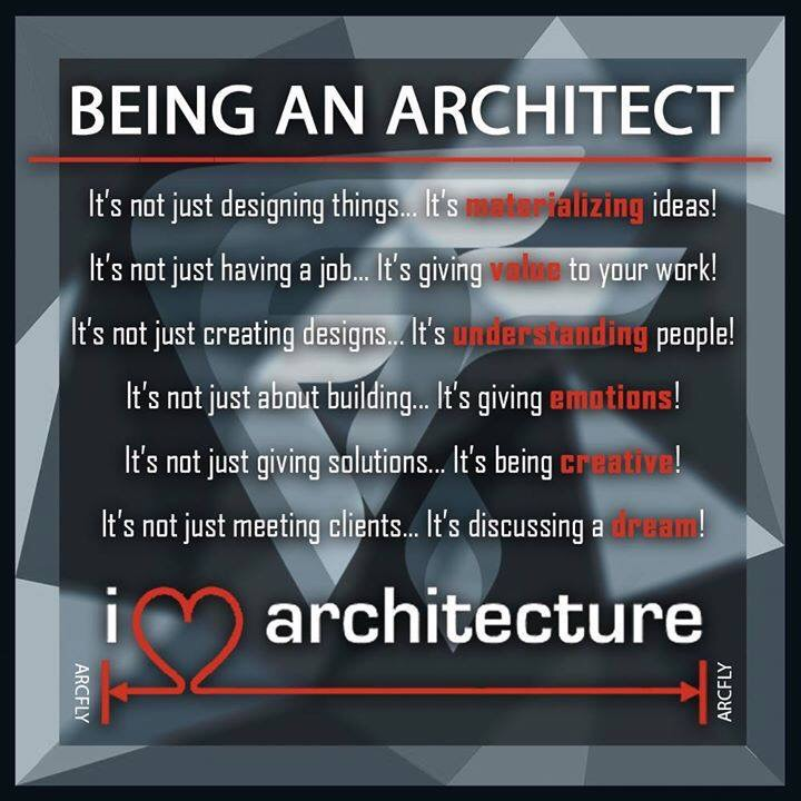 becoming an architect Becoming an architect with a foundation in business thinking is different than becoming an architect with a foundation in design thinking, and neither is more prestigious or righteous than the other, and in fact, they need each other for a work of architecture to function.