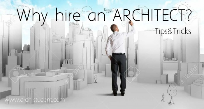 Hiring An Architect Arch