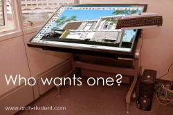 Digital board for ARCHITECTS and DESIGNERS