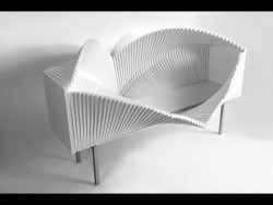 The wave cabinet design