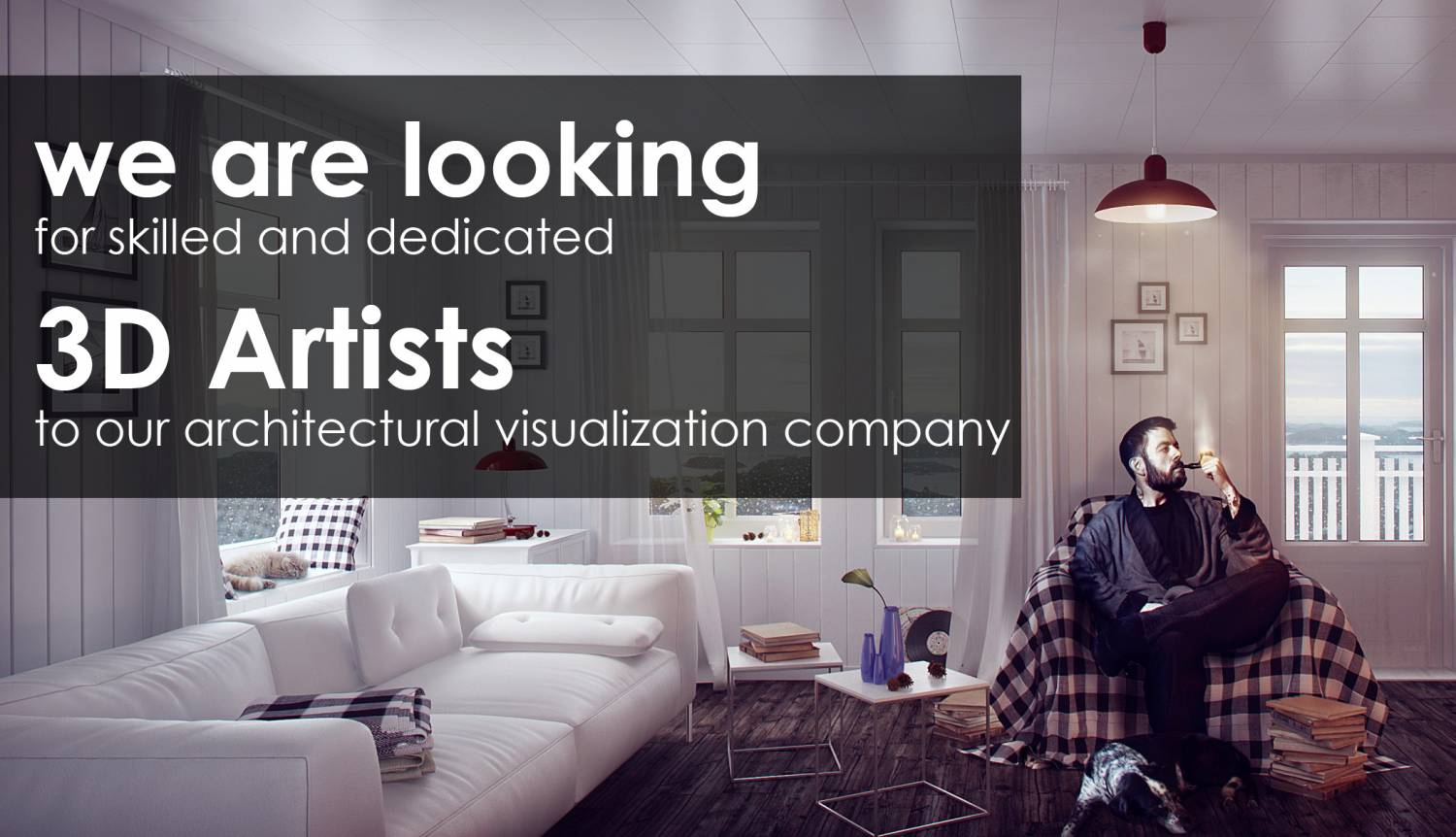 We are looking for skilled and dedicated 3d artists to our architectural visualization company for Junior interior designer jobs nyc