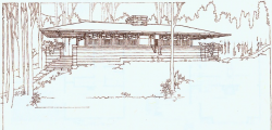 F. L. Wright Old Drawing