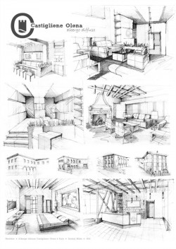 interior sketches