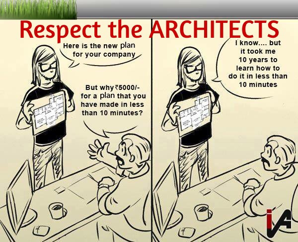 Respect the ARCHITECTS